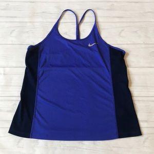 Nike dri-fit women's large tank top